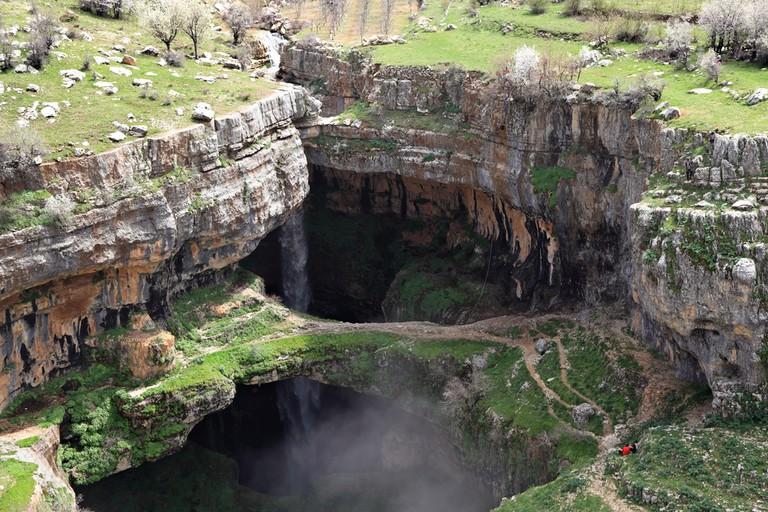 Baatara Gorge Waterfall, Tannourine