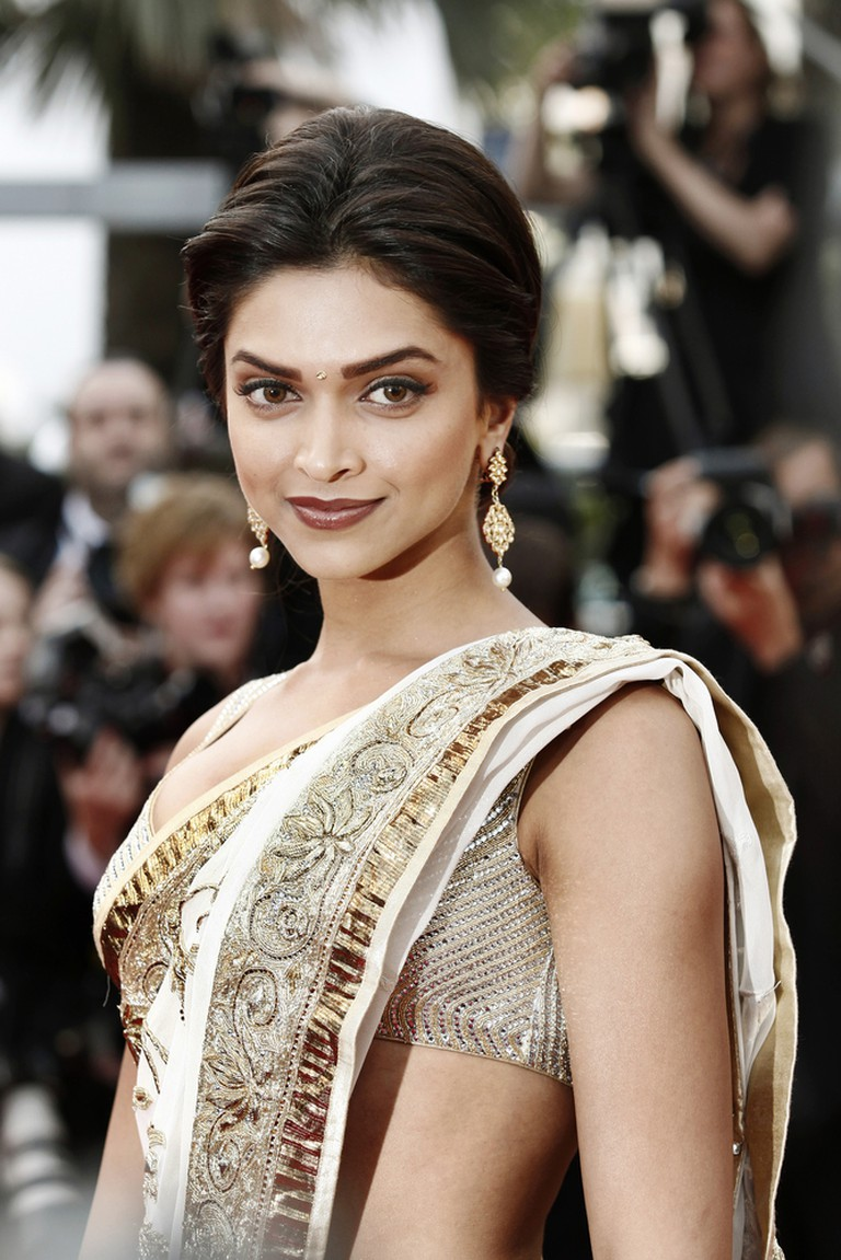 Actress Deepika Padukone attends the premiere of 'On Tour' during the 63rd Cannes Film Festival