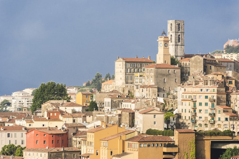 Old town of Grasse, France