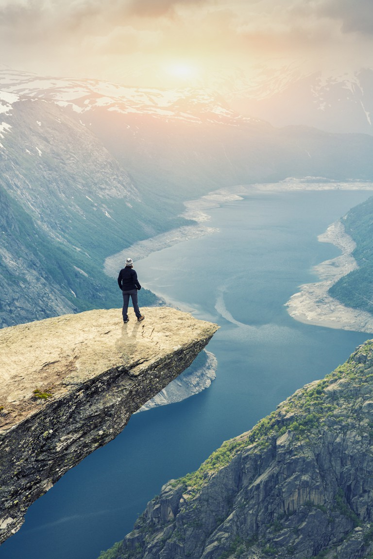 The views from Trolltunga, Norway, are quite something