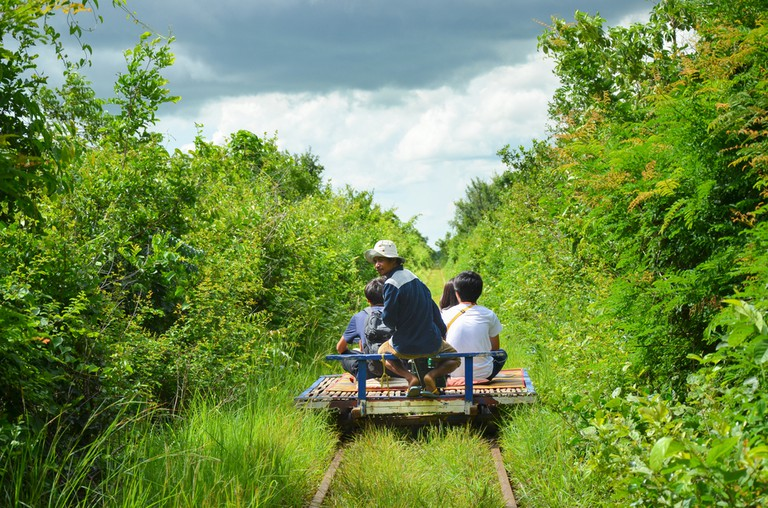 Battambang;s bamboo train