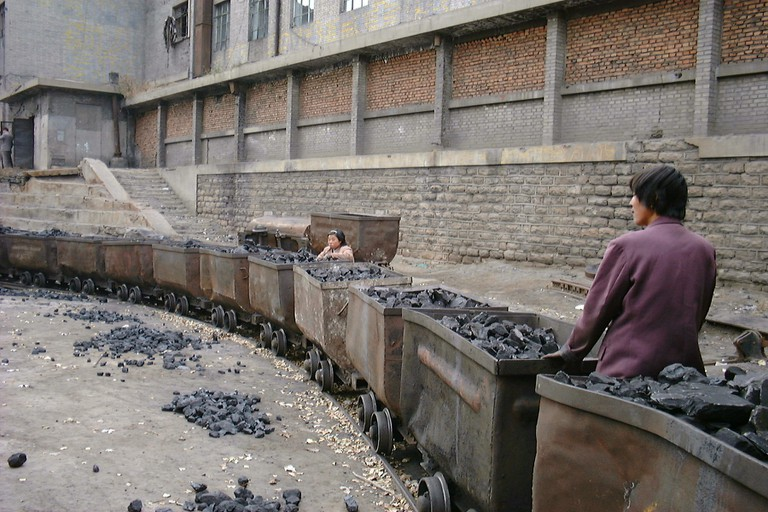 Transporting coal