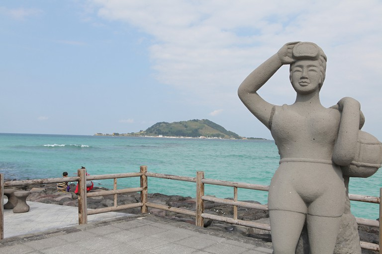 Haenyeo, a symbol of Jeju Island