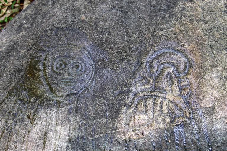Taíno petroglyphs