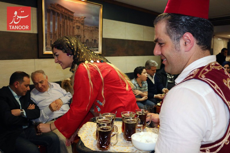 Traditional Syrian food and culture at Tanoor