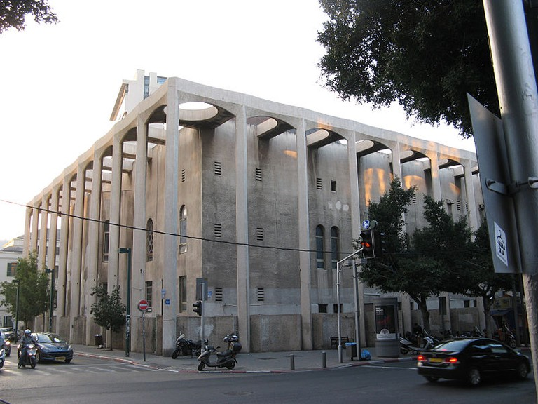 Tel Aviv's Great Synagogue, today one of the hippest areas in the city