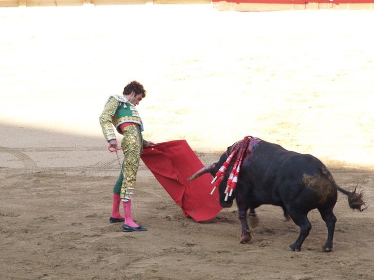 Seville's April Fair bullfights are some of the most prestigious in the world