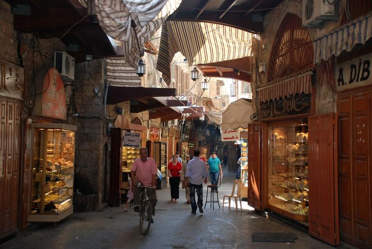 Old souks, Tripoli | © Bertramz / WikiCommons
