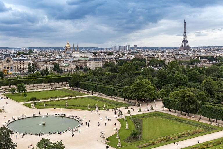 Tuileries Garden │© Marco Verch / Wikimedia Commons