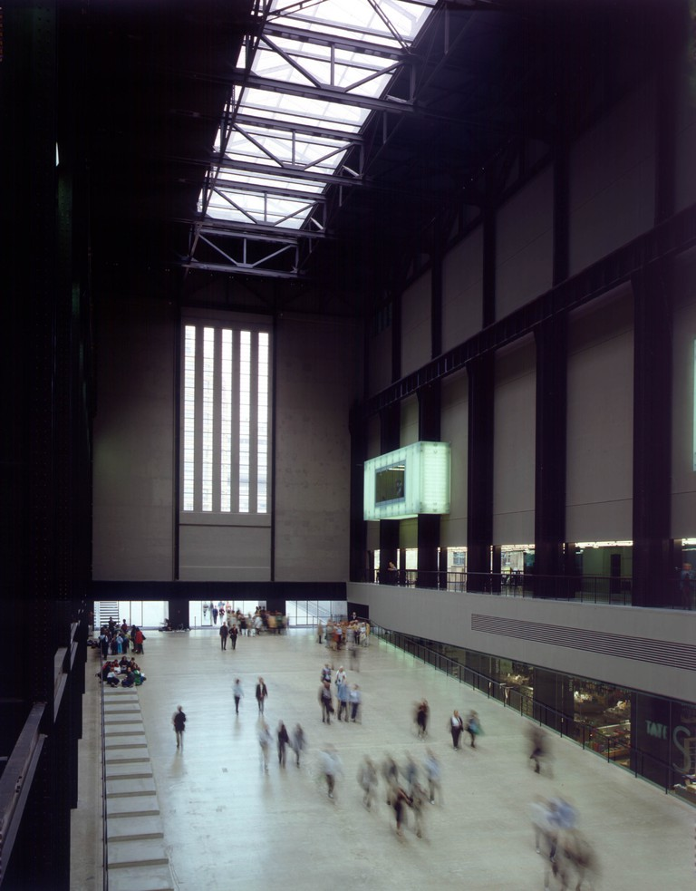 The Turbine Hall often hosts large-scale sculpture and site-specific installation art