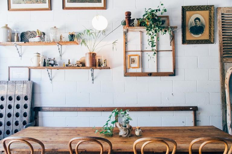Farmhouse Café at Vieille Branche, Albion