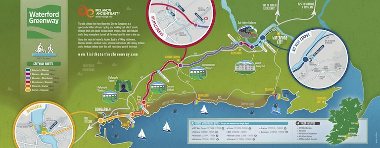Waterford Greenway 2017 Map
