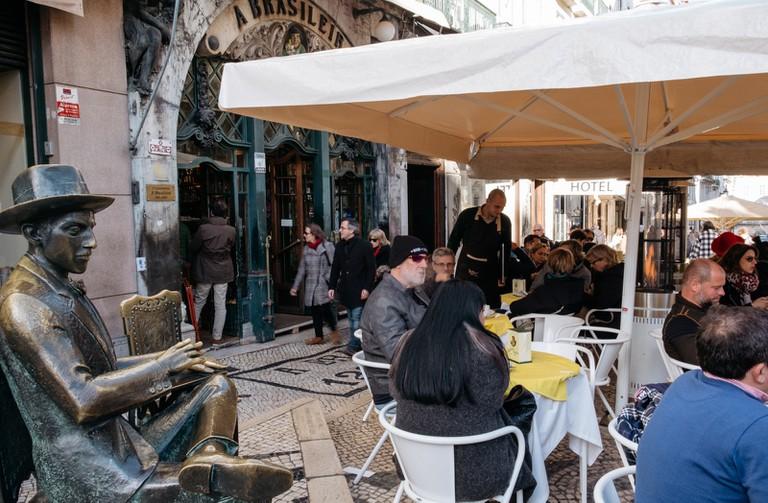 WATSON - LISBON, PORTUGAL, CAFE A BRASILEIRA