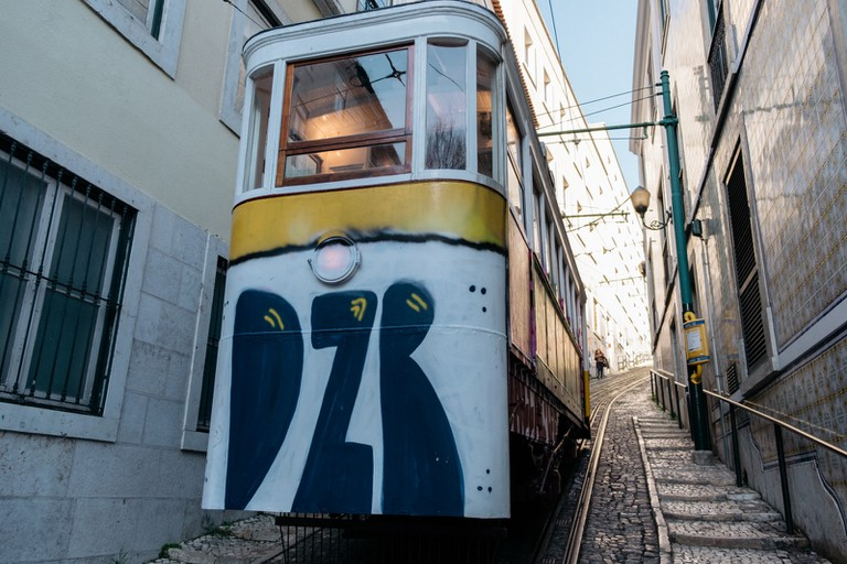 WATSON - LISBON, PORTUGAL - YELLOW TRAM TO JARDIM DO TOREL
