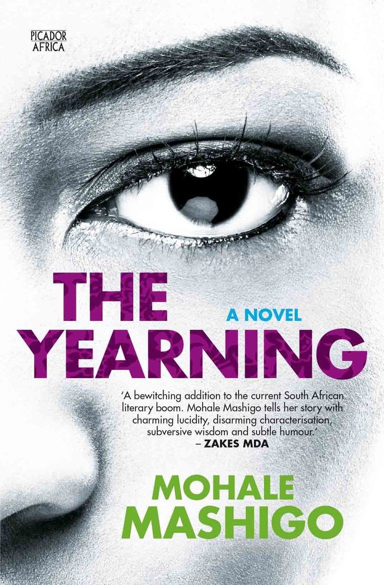 Book cover: The Yearning by Mohale Mashigo