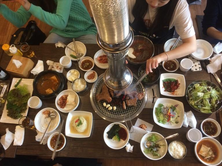 Korean BBQ   Abby Narishkin