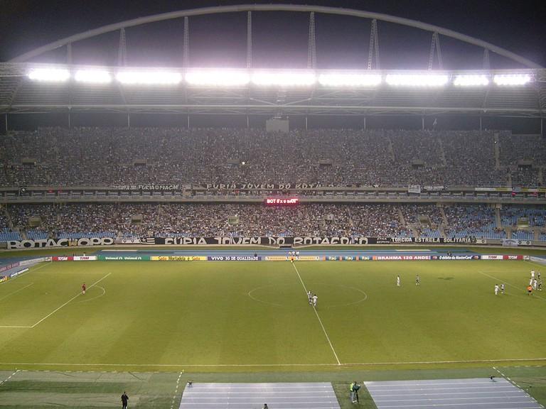 Inside the stadium  ©Martins, Tito/WikiCommons