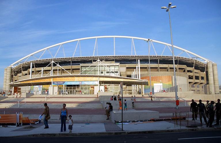 Estádio Olímpico Nilton Santos from the outside  © Wilsom Dias/Abr/WikiCommons