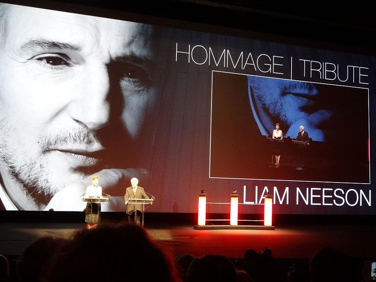 Liam Neeson tribute at Festival Deauville 2012 | © Elen Nivrae/Flickr