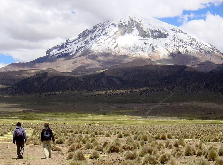 a bolivian hike