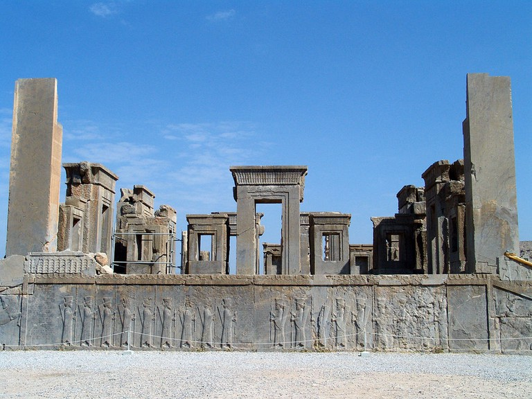 Tachara Palace in Persepolis | © درفش کاویانی / Wikimedia Commons