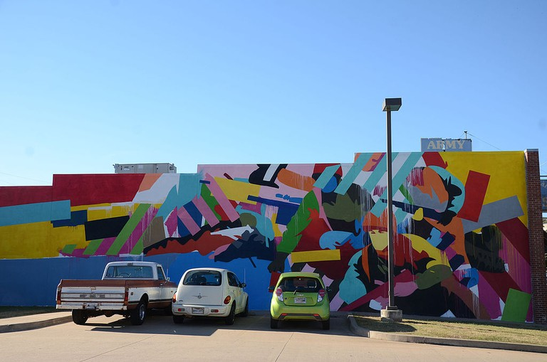 Maser mural in Arkansas, USA, painted as part of the 2015 Unexpected Fort Smith Festival | © Valis55/Flickr