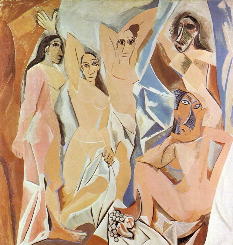 Les Demoiselles d'Avignon by Pablo Picasso © NichoDesign