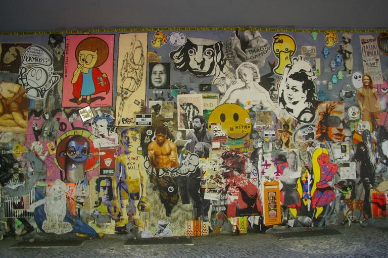 Kreuzberg's Explosive Paste-Ups And Tags
