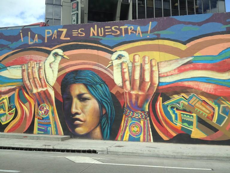 Peace is Ours | © Juan Cristobel Zulueta/Flickr