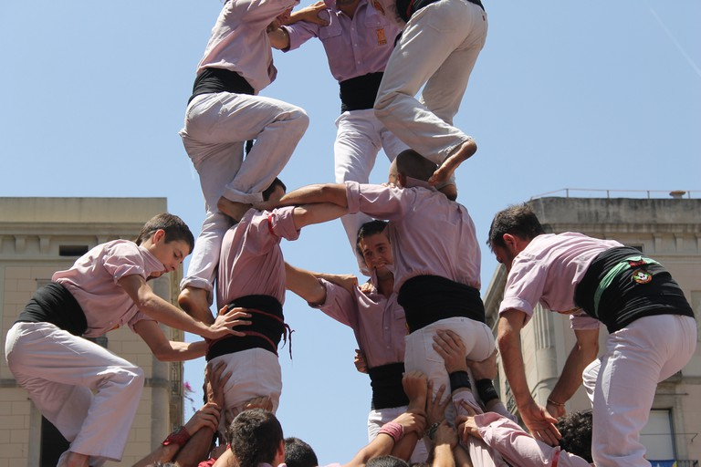 The castellers © Connie Ma