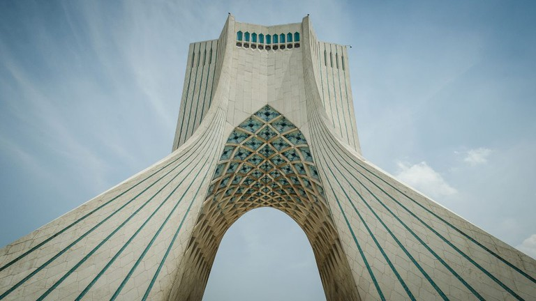 Tehran's Azadi Tower | © Chris Blackhead