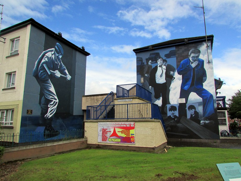 The Bogside Murals