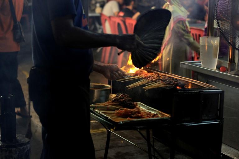 Georgetown, Penang Satay | © Phalinn Ooi / Flickr