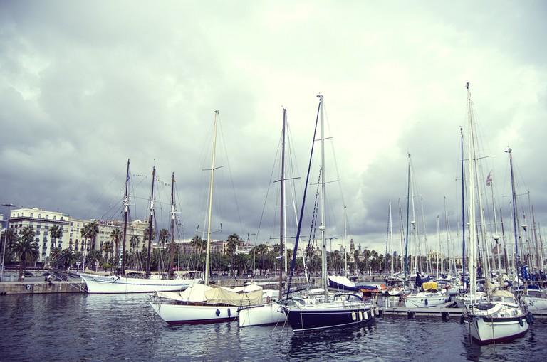 The Port Vell © Rose-Ann Hallgren