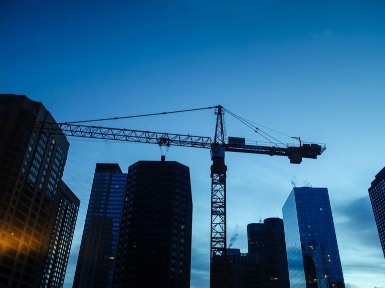 Chicago construction | © Brad Hagan/Flickr