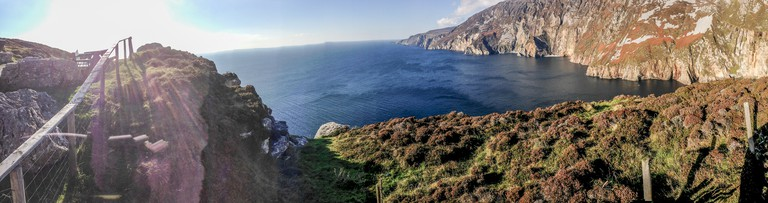 Slieve League Panorama | © Tony Webster/Flickr