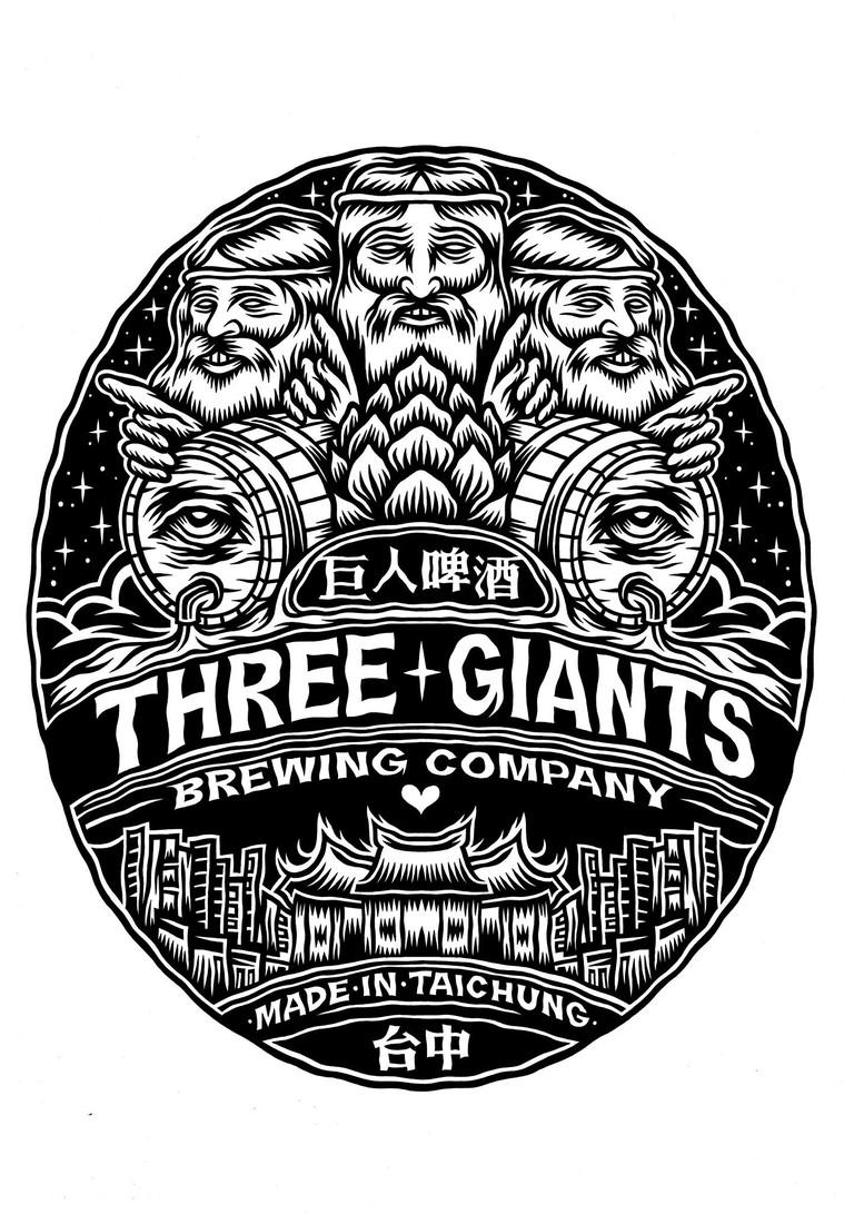 Three Giants logo | © Three Giants Brewing Co.