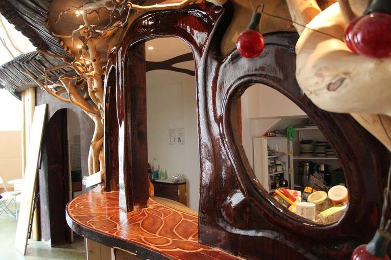 The fairytale treehouse kitchen
