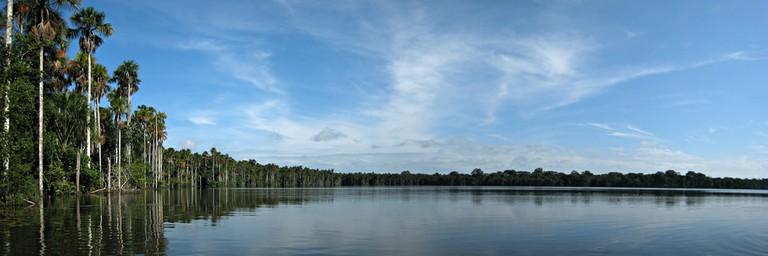 Lake Sandoval in Tambopata National Reserve