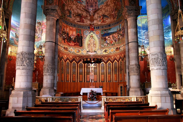 The Tibidabo chapel © Jorge Franganillo