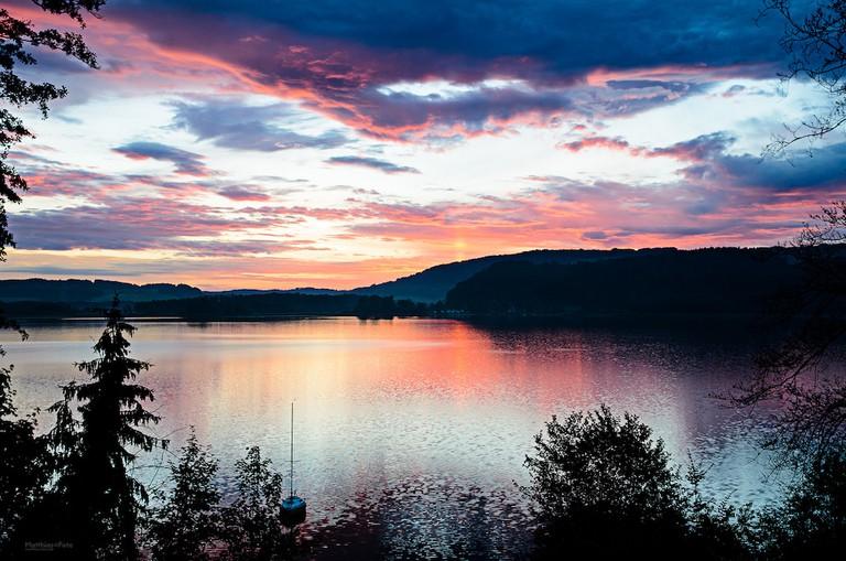 Simssee Lake