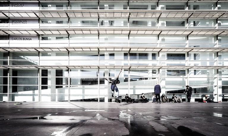 Skater at the MACBA © Luis Marina