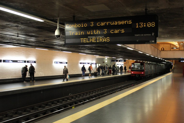 The Lisbon metro is very easy to navigate