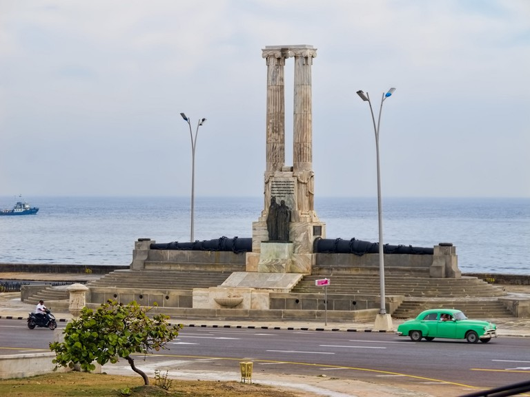 Monument to victims of the USS Maine explosion in Havana in 1898