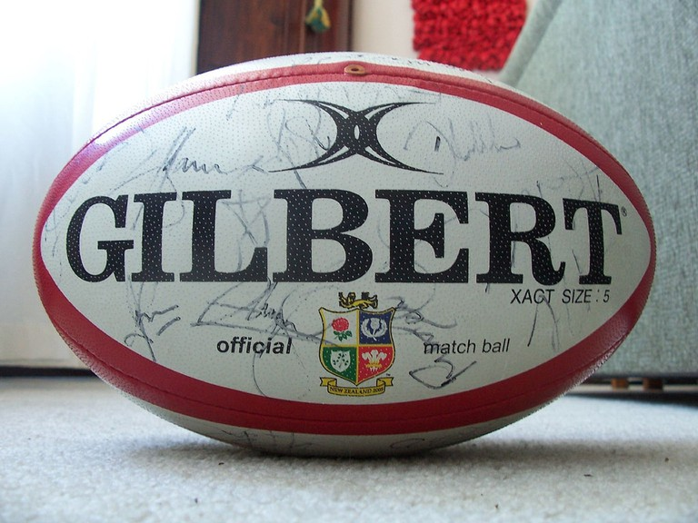 The Official Rugby Ball for the 2005 Lions Tour