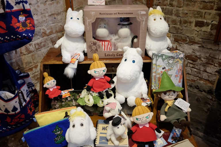 A selection of Moomin merchandise in Japan/ Choo Chin Nian/ Flickr