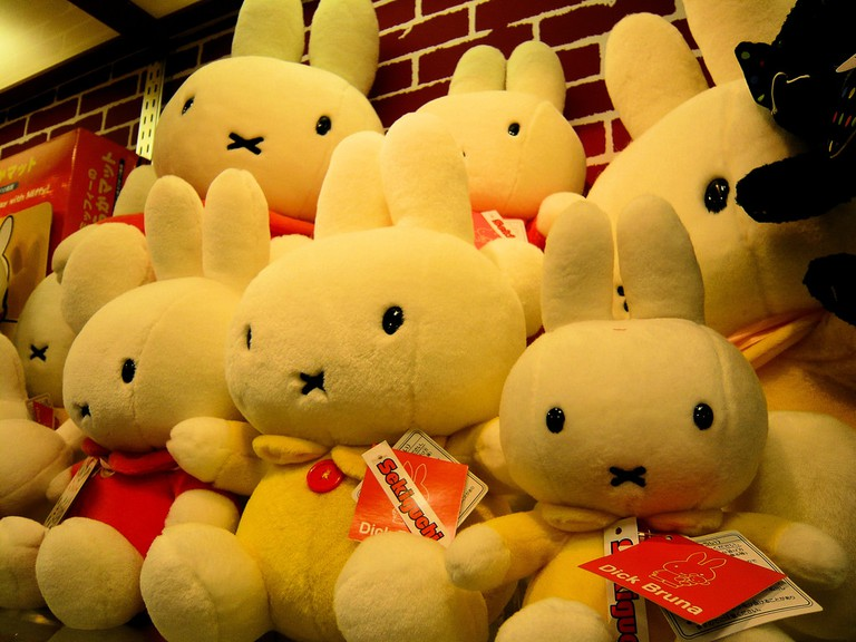 Miffy plushies found at Kiddy Land | © DocChewbacca/Flickr