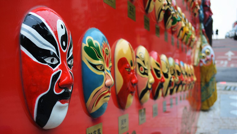 Chinese Masks in Incheon Chinatown