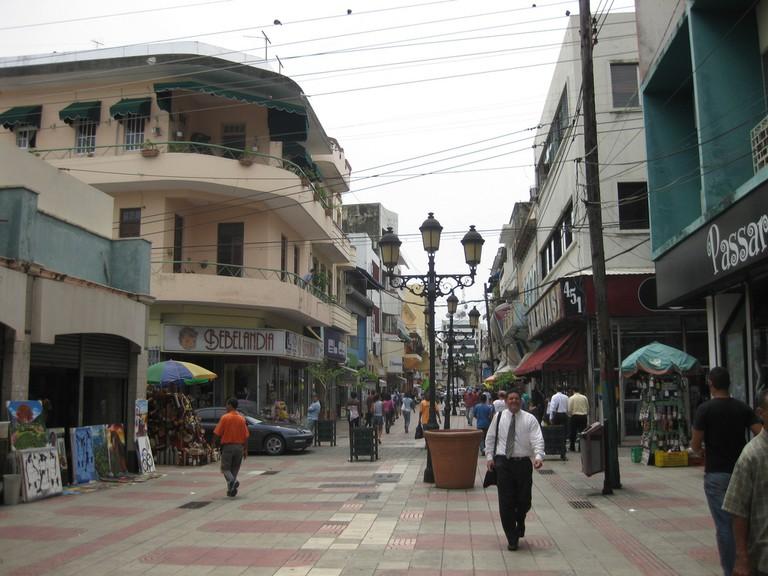 La Calle Peatonal El Conde
