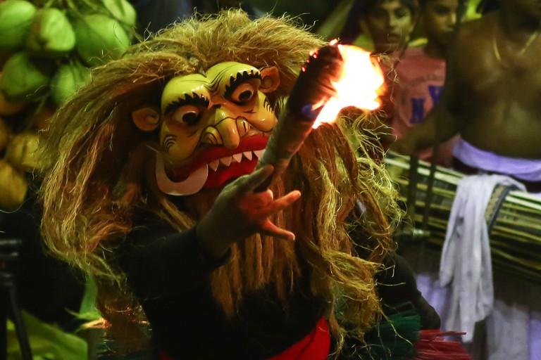 Sri Lanka devil dance